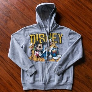 Vintage Walt Disney World Zip Up Sweatshirt